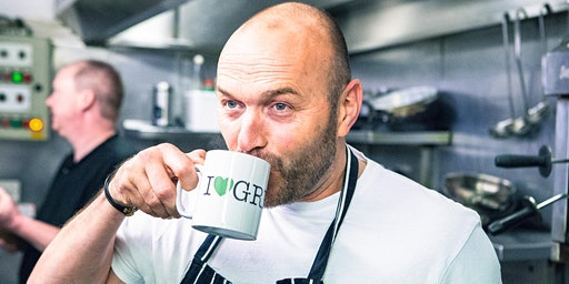 An Evening at Greens with Chef and Sunday Brunch host Simon Rimmer