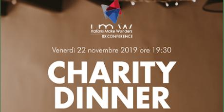 Charity IMW- Cena per la Croce Rossa Italiana Comitato di Brescia biglietti
