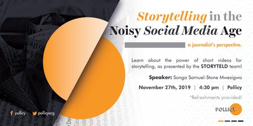 Story Telling in the Noisy Social Media Age