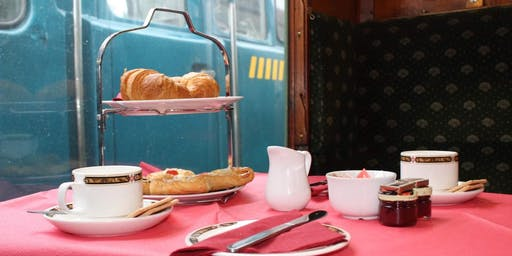 Morning Coffee, Prosecco & Pastries Steam Train Ride