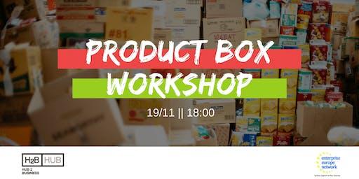 Product Box - Workshop
