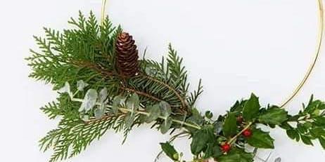 Hoop Wreath Workshop With Essential Oils