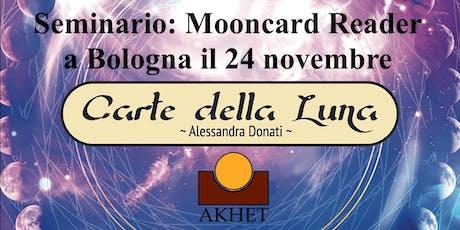 """Seminario """"Mooncard Reader"""" biglietti"""