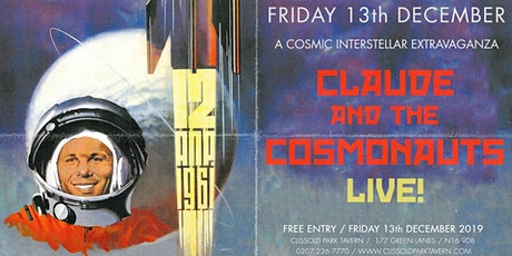 Claude & The Cosmonauts Live at CPT tickets