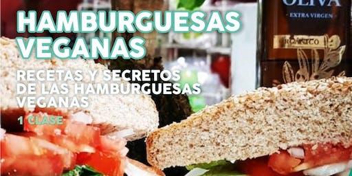 """TALLER GRATUITO """"HAMBURGUESAS VEGANAS"""" Recetas y Secretos"""