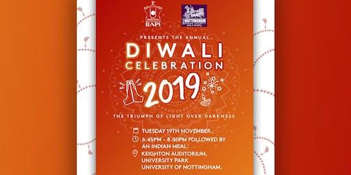 NHSF (UK) Nottingham x BAPS: Diwali Celebration 2019