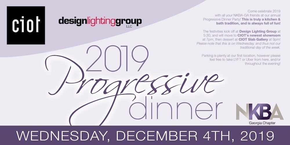 2019 Nkba Progressive Dinner
