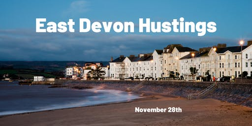 East Devon Parliamentary Hustings