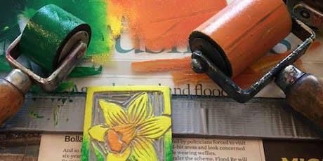 Printmaking Workshops - Lino Cut, Dry Point and Monoprint tickets