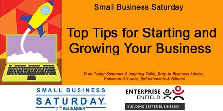 Top Tips for Starting and Growing Your Business- Free Taster Seminar tickets