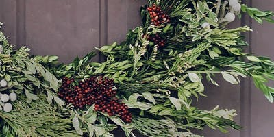 Wreath Workshop with Two Stems of Joy