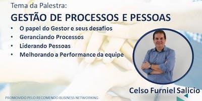 Rodada de Negócios + Palestra: Gestão de Processos e Pessoas