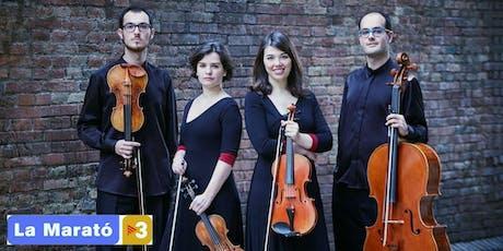 Cosmos Quartet - Concert per La Marató  a Capellades entradas