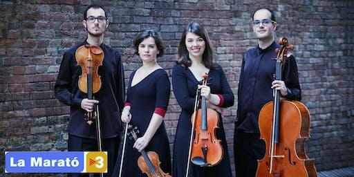 Cosmos Quartet - Concert per La Marató  a Capellades
