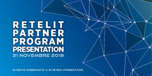 Retelit Partner Program Presentation