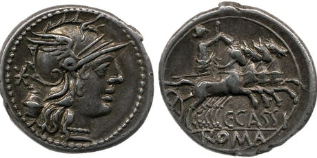 U3A Classical World Workshops - Roman coins  tickets