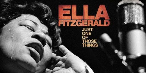 VIEWTUBE CINEMA - ELLA FITZGERALD: JUST ONE OF THOSE THINGS + Q&A