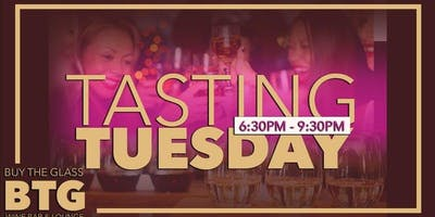 Tasting Tuesday | California Wines $2 Per Glass