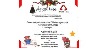 Angel Tree - Christmas Event for Kids 1-18years old