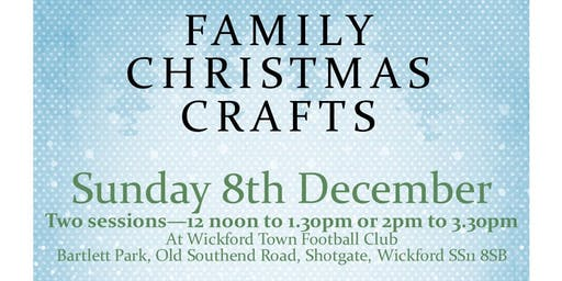 Family Christmas Crafts - raising money for children with ASD/Anxiety