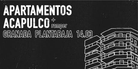 Apartamentos Acapulco + Ramper en PLANTA BAJA, Granada entradas
