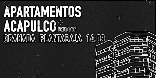 Apartamentos Acapulco + Ramper en PLANTA BAJA, Granada