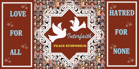 Interfaith Peace Symposium (Women's Only Event) tickets