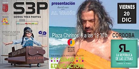 PRESENTACION LIBRO AL VACIO Y PROYECTO DE MINDFULNESS, S3P CORDOBA entradas