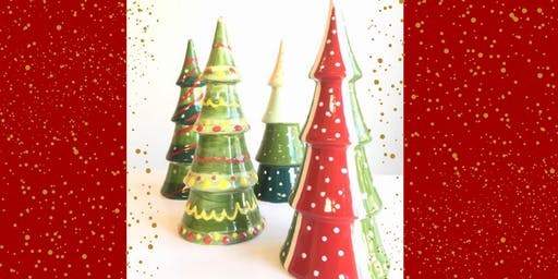 Christmas Pottery Painting at Echo Brewing Company (12/4)