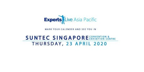 ExpertsLive Asia Pacific 2020 tickets