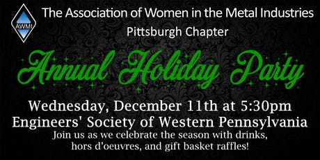 AWMI Pittsburgh - Annual Holiday Party! tickets
