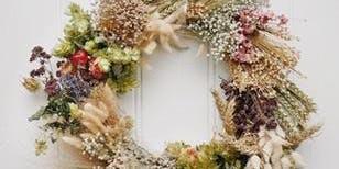 Everlasting Christmas Wreath Making