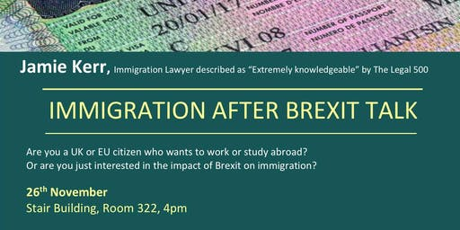 Immigration After Brexit