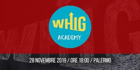 WHIG Academy - Workshop gratuito sulle campagne pubblicitarie a Natale biglietti
