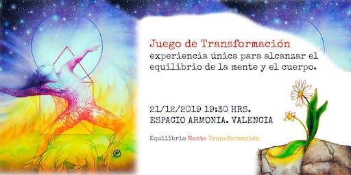 Juego de Transformación