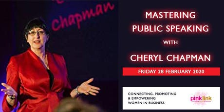 Master Public Speaking with Cheryl Chapman tickets
