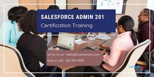 Salesforce Admin 201 4 Days Classroom Training in Modesto, CA