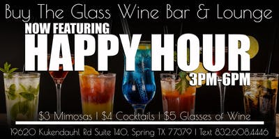 Happy Hour | $5 Wine & Drink Specials