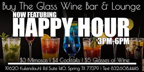 Happy Hour | $5 Wine & Drink Specials tickets