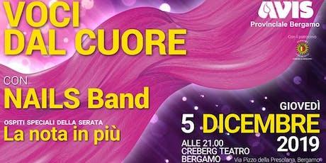 VOCI DAL CUORE 2019 - Concerto di Natale Avis Provinciale Bergamo biglietti