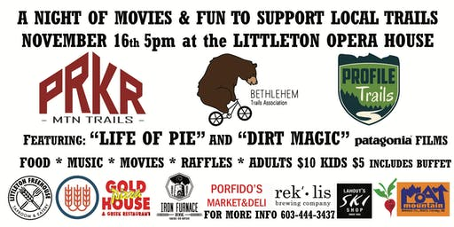 A Night of Movies and Fun to Support Local Trails