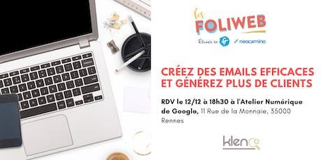 [Rennes] Créez des emails efficaces et générez plus de clients billets