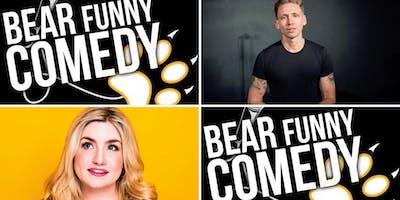 Bear Funny Comedy with Alistair Williams & Harriet Kelmsley
