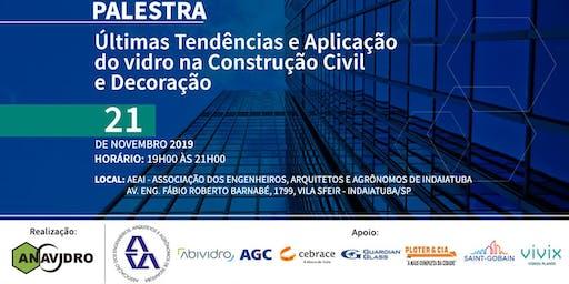 Últimas Tendências e Aplicação do Vidro na Construção Civil e Decoração