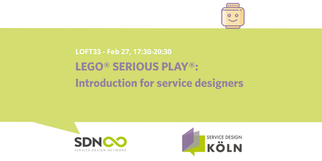 LEGO® SERIOUS PLAY®: Introduction for service designers tickets