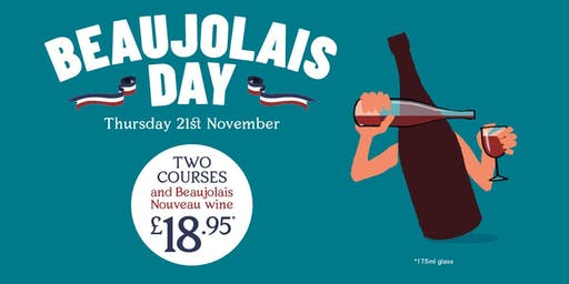 Beaujolais Day at Bistrot Pierre!