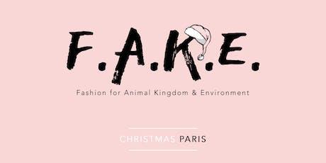 Soirée d'ouverture - F.A.K.E. christmas (un Noël Fashion Végane et Éthique) billets