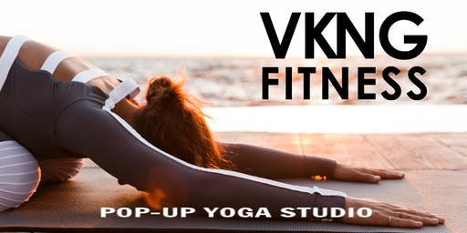 GRAND Opening - VKNG Fitness popup yoga studio