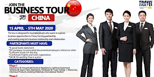 Business Tour To China