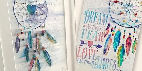 Dream Catcher 3D Watercolor tickets
